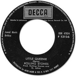 The Rolling Stones : Little Queenie - Lebanon 1971