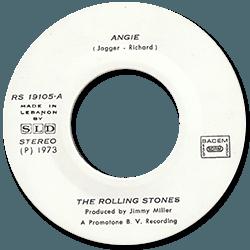 The Rolling Stones : Angie - Lebanon 1973