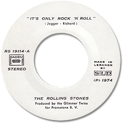 The Rolling Stones : It's Only Rock'n'Roll - Lebanon 1974