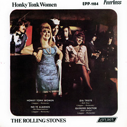 The Rolling Stones : Honky Tonk Women - Mexico 1970