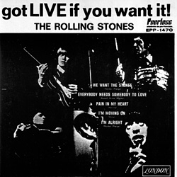 The Rolling Stones : Got Live If You Want It! - Mexico 1971