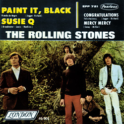 The Rolling Stones : Paint It, Black - Mexico 1979