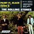 "The Rolling Stones : Paint It, Black, 7"" EP from Mexico - 1979"