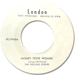 The Rolling Stones : Honky Tonk Women - Mexico 1969