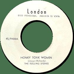 The Rolling Stones : Honky Tonk Women - Mexico 1969