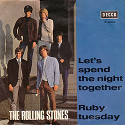 The Rolling Stones : Let's Spend The Night Together - Norway / UK 1967