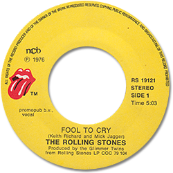 The Rolling Stones : Fool To Cry - Norway 1976