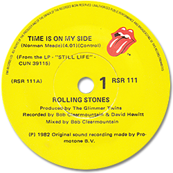 The Rolling Stones : Time Is On My Side (live) - New Zealand 1982