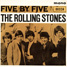 "The Rolling Stones : Five By Five, 7"" EP from New Zealand - 1964"
