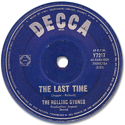The Rolling Stones : The Last Time - Australia 1965