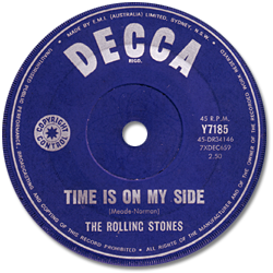 The Rolling Stones : Time Is On My Side - Australia 1964