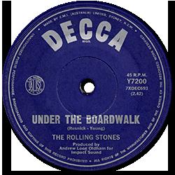 The Rolling Stones : Under The Boardwalk - Australia 1965