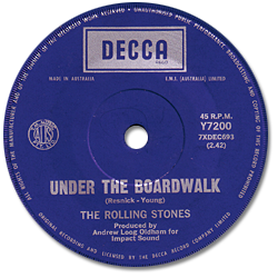The Rolling Stones : Under The Boardwalk - Australia 1970