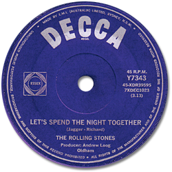 The Rolling Stones : Let's Spend The Night Together - Australia 1967
