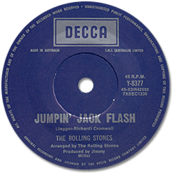 The Rolling Stones : Jumpin' Jack Flash - Australia 1968