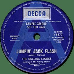 The Rolling Stones : Jumpin' Jack Flash - Australia 1968