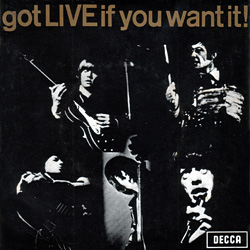 The Rolling Stones : Got Live If You Want It! - Australia 1965