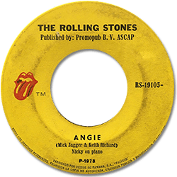 The Rolling Stones : Angie - Panama 1973