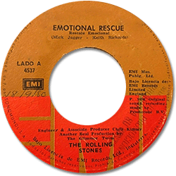 The Rolling Stones : Emotional Rescue - Panama 1980