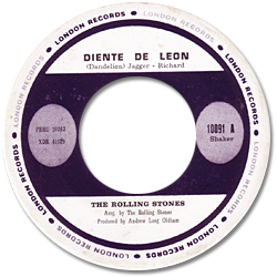 The Rolling Stones : Dandelion - Peru 1967
