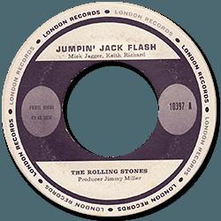 The Rolling Stones : Jumpin' Jack Flash - Peru 1968