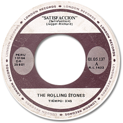 The Rolling Stones : Satisfaction - Peru 1973