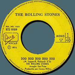 The Rolling Stones : Doo Doo Doo Doo Doo (Heartbreaker) - Peru 1974