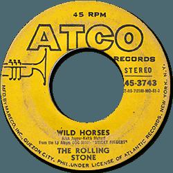 The Rolling Stones : Wild Horses - Philippines 1971