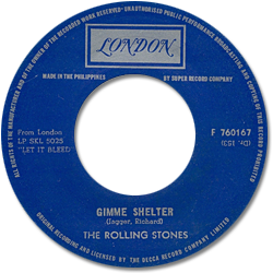 The Rolling Stones : Gimme Shelter - Philippines 1969