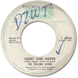 The Rolling Stones : Honky Tonk Women - Philippines 1969