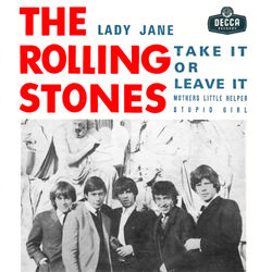 The Rolling Stones : Lady Jane - Portugal 1966