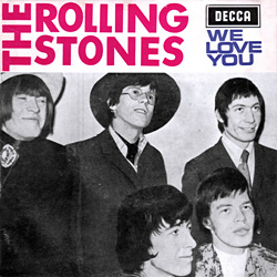 The Rolling Stones : We Love You - Portugal 1967