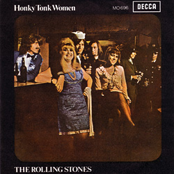 The Rolling Stones : Honky Tonk Women - Spain 1969