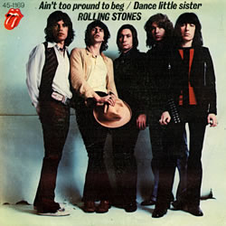 The Rolling Stones : Ain't Too Proud To Beg - Spain 1974