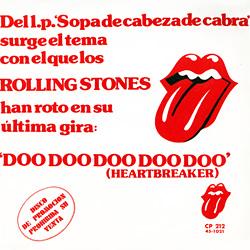 The Rolling Stones : Doo Doo Doo Doo Doo (Heartbreaker) - Spain 1974