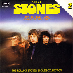The Rolling Stones : Single Stones - The Rolling Stones Singles Collection - Spain 1980