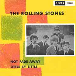 The Rolling Stones : Not Fade Away - Sweden / UK 1964