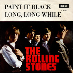 The Rolling Stones : Paint It, Black - Sweden / UK 1966