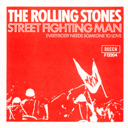 The Rolling Stones : Street Fighting Man - Sweden / UK 1971