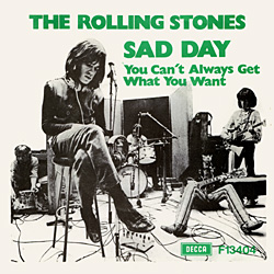 The Rolling Stones : Sad Day - Sweden / UK 1973