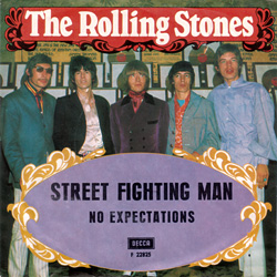 The Rolling Stones : Street Fighting Man - Sweden / UK 1968