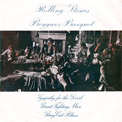 The Rolling Stones : Beggar's Banquet - Thailand 1968