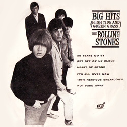 The Rolling Stones : Big Hits - Thailand 1966