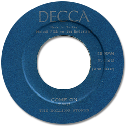 The Rolling Stones : Come On - Turkey 1963