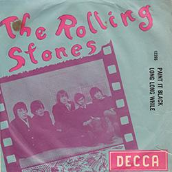The Rolling Stones : Paint It, Black - Turkey 1966