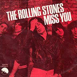 The Rolling Stones : Miss You - Turkey 1978