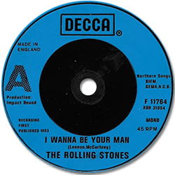The Rolling Stones : I Wanna Be Your Man - UK 1982