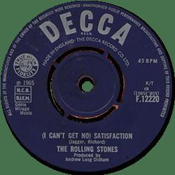 The Rolling Stones : Satisfaction - UK 1965