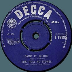The Rolling Stones : Paint It, Black - UK 1966