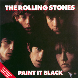 The Rolling Stones : Paint It, Black - UK 1990